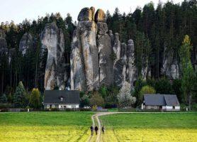 Rochers d'Adrspach et de Teplice: une extraordinaire cité de pierre