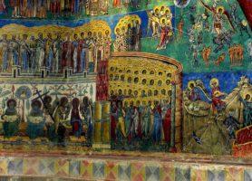 Monastère de Voroneț: le château des peintures