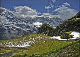 Schilthorn: un impressionnant coffre de panoramas