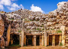 Ggantija: un vieux et remarquable lieu saint dans le monde