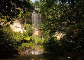 Le Voile de la Mariée: au cœur d'une sublime avalanche d'eau