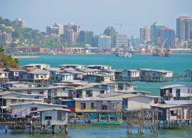 Port Moresby: la chatoyante capitale papoue