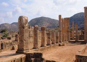 Ptolémaïs: un magnifique site archéologique