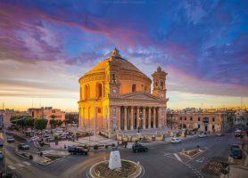 église de Mosta: le majestueux symbole de la belle île