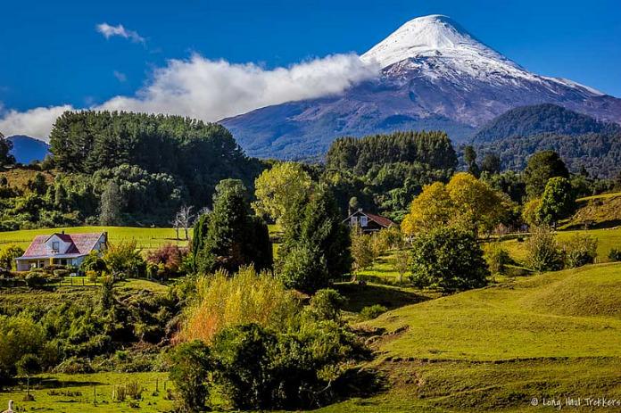 Volcan Osorno : une haute fournaise dans les Andes