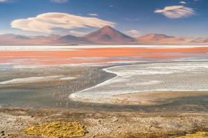 Laguna colorada: le lac rouge