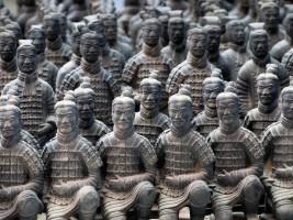 L'armée de terre cuite de Xian : le chef d'oeuvre d'un empereur fou