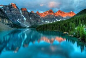 Banff : parc naturel au cœur des montagnes rocheuses canadiennes