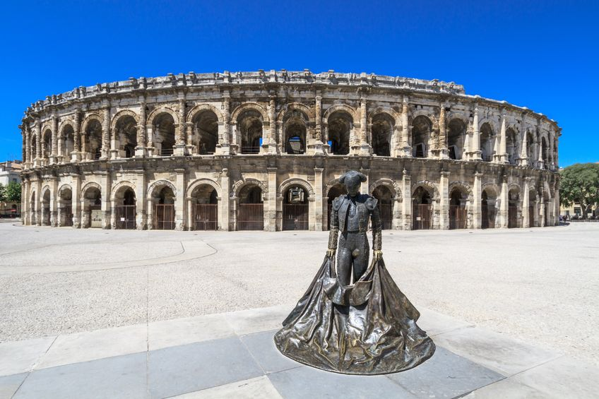 Arènes de Nîmes, France: sublime amphithéâtre romain