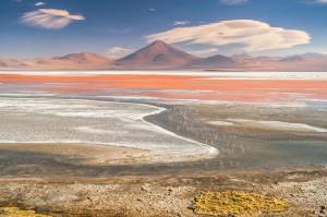 Laguna colorada: le lac rouge