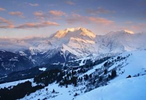 Le mont Blanc-Europe: Les neiges éternelles du Toit de l'Europe