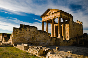 Dougga : La cité romaine de l'Afrique