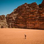 Le désert de Wadi Rum