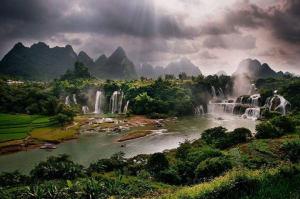 Detian : les cascades de l'amitié vietnamo-chinoise