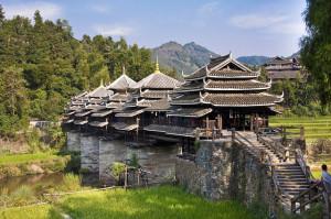 Pont de Chengyang : une merveille à l'abri du vent et de la pluie