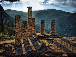 Delphes : la demeure antique d'Apollon