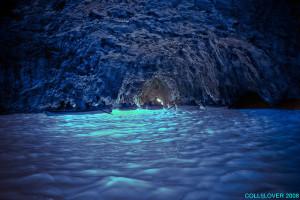 La Grotte bleue de Capri : l'azur à l'état pur