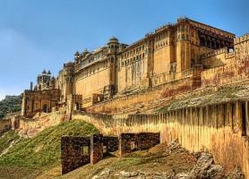 Fort d'Amber: une merveille pour les yeux