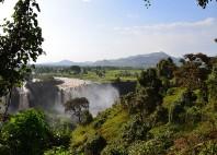 Les chutes du Nil Bleu