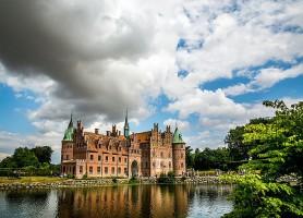 Château d'Egeskov : porté par un lac depuis 465 ans