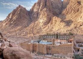 Monastère Sainte-Catherine du Sinaï : temple de la suppliciée