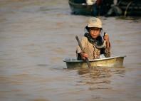 Villages flottants de Tonlé Sap