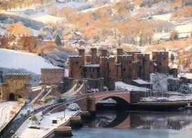 Château de Conwy : la plus belle forteresse médiévale