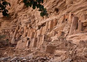Falaise de Bandiagara : une merveille du Mali