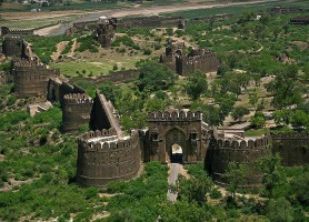 Fort de Rohtas: intact malgré ses 500 ans