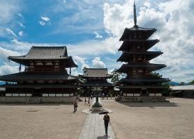 Hōryū-ji : le plus ancien temple en bois existant