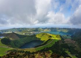 Sete Cidades: un magnifique lac entouré de cratères volcaniques