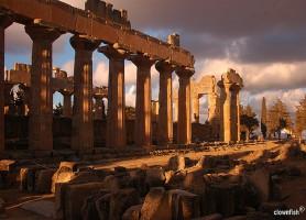 Cyrène: l'ancienne ville grecque de la Libye