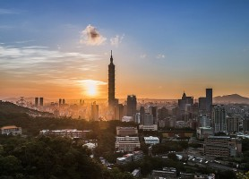 Taipei 101 : le majestueux bambou bleu turquoise !