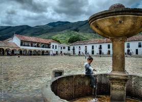 Villa de Leyva : une place coloniale immense