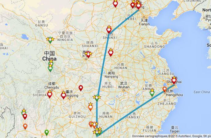 Itinéraire incontournable - Chine