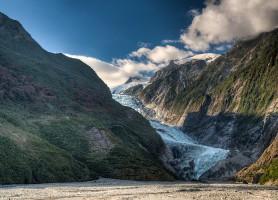 Glacier Franz Joseph: suspendu entre ciel et terre!