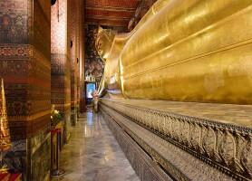 Wat Pho : Le temple du Bouddha couché