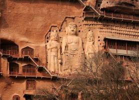 Maijishan: l'époustouflante montagne artistique