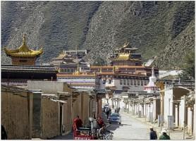 Monastère de Labrang: la maison de Bouddha vivant!
