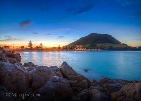 Mount Maunganui : ville côtière touristique aux traits naturels