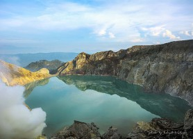 Volcan Kawah Ijen: un merveilleux cratère vert!