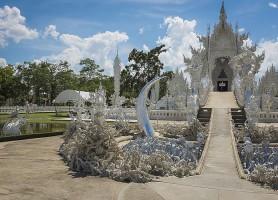 Wat Rong Khun: le magnifique temple blanc thaïlandais