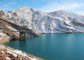 Barrage de Nurek: un château d'eau incroyable