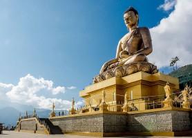Bouddha Dordenma: découvrez la statue du bonheur
