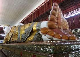 Chaukhtatgyi: contemplez la pagode de la sérénité