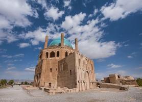 Dôme de Soltaniyeh: un symbole de l'architecture islamique