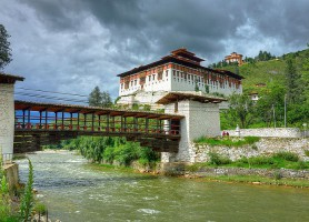 Dzong de Rinpung: la forteresse des joyaux empilés