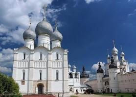 Kremlin de Rostov: le Palais d'or et d'argent!