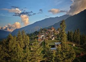 Monastère de Gangtey: une superbe harmonie avec la nature