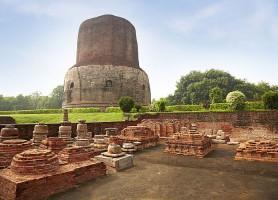 Sarnath: le lieu du premier sermon de Bouddha